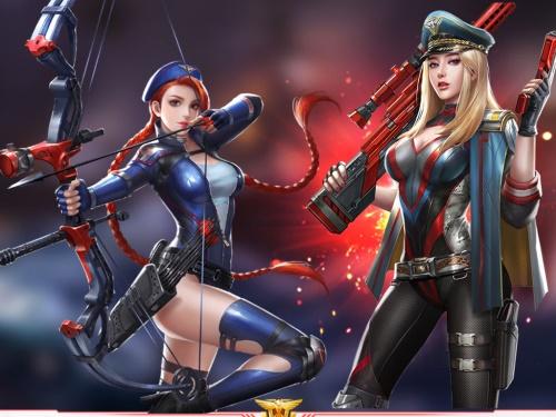 红警OL超时空选美尽显女性玩家之魅力