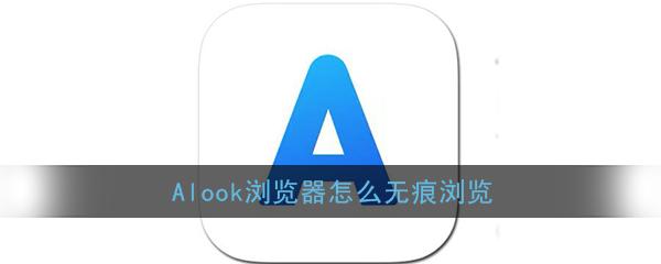《Alook浏览器》无痕浏览开启方法