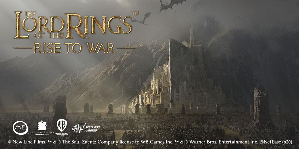 网易和华纳合作 将研发策略手游《指环王:崛起战争》