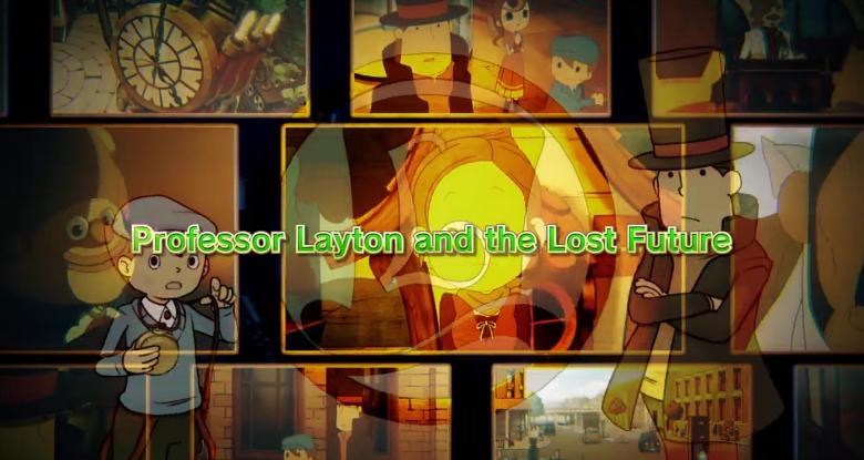 LEVEL5《雷顿》系列第三作HD手机版宣传片公开