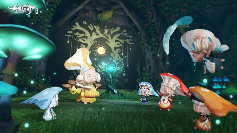 不平凡的小蘑菇 《天谕》手机游戏探秘仙菇族