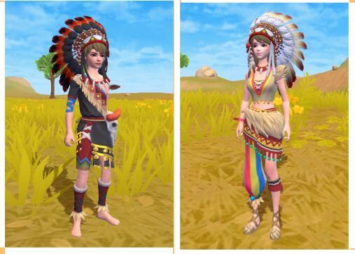《创造与魔法》自由印第安服饰获得方法