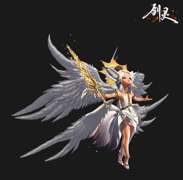 《剑灵》新版本开启 全新璀璨套装化身天使闪耀圣光
