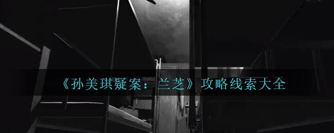 《孙美琪疑案:兰芝》攻略线索大全