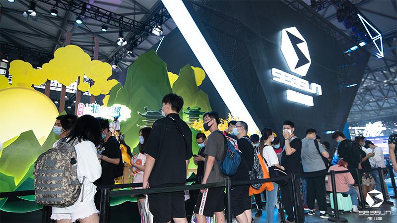 2020ChinaJoy正式开展,西山居现场精彩速报!