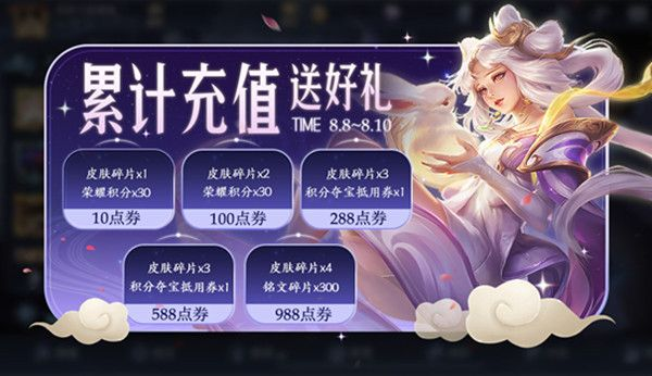《王者荣耀》8月4日更新内容一览2020