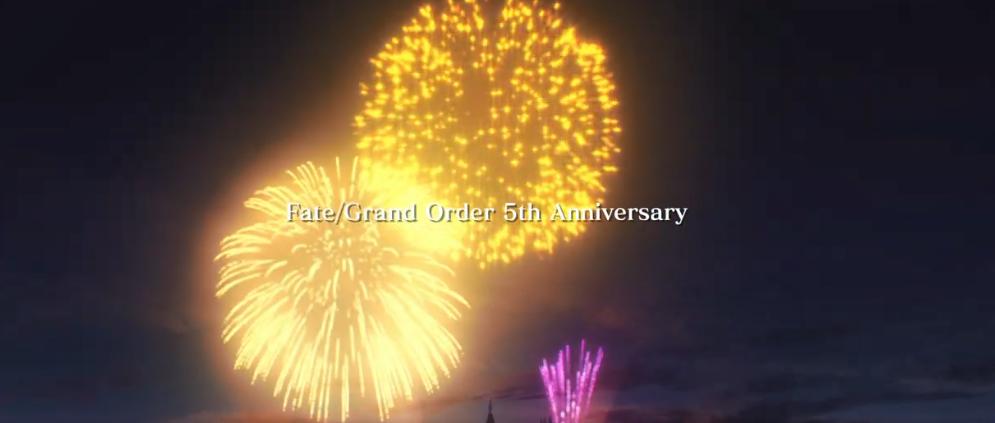 人气手游FGO走过五周年!特别纪念动画视频公开