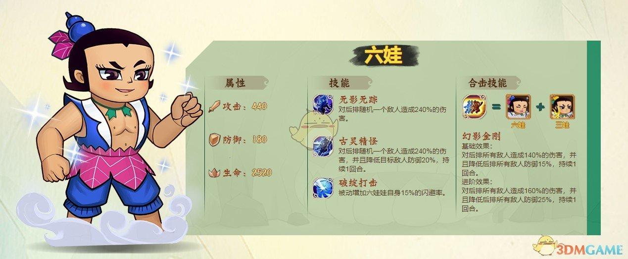 《葫芦兄弟:七子降妖》六娃获得方法介绍