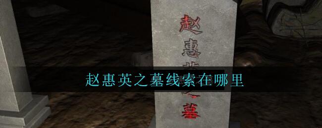 《孙美琪疑案:周芳》五级线索——赵惠英之墓