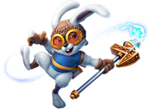 《野蛮人大作战》兔兔的突袭!光阴洞窟里的绝世保宝藏现世!