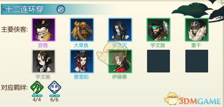 《剑网3:指尖对弈》前期连胜阵容推荐介绍