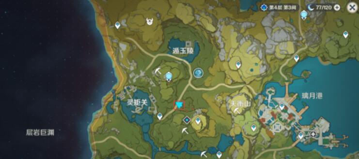 《原神》岩盔丘丘王精英怪刷新位置一览