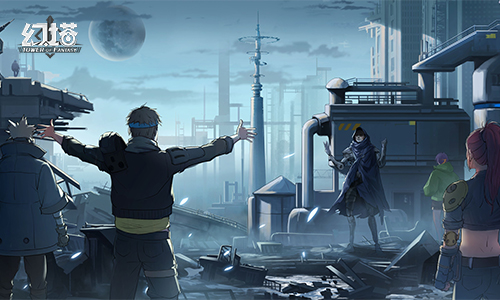 《幻塔》首测定档10月29日 世界观PV公布