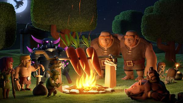 部落冲突:秋季更新 全新超级兵种来袭 万圣节大狂欢