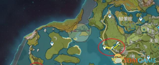 《原神》轻策庄挖矿攻略