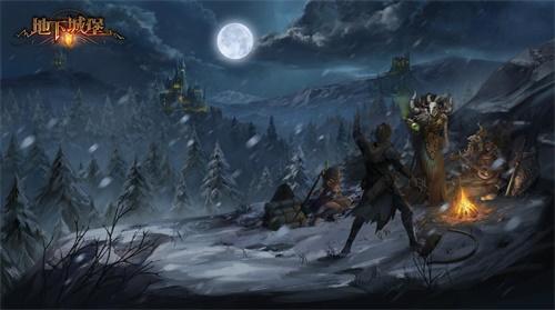 勇闯冰封谷,《地下城堡2》首个万圣版本即将上