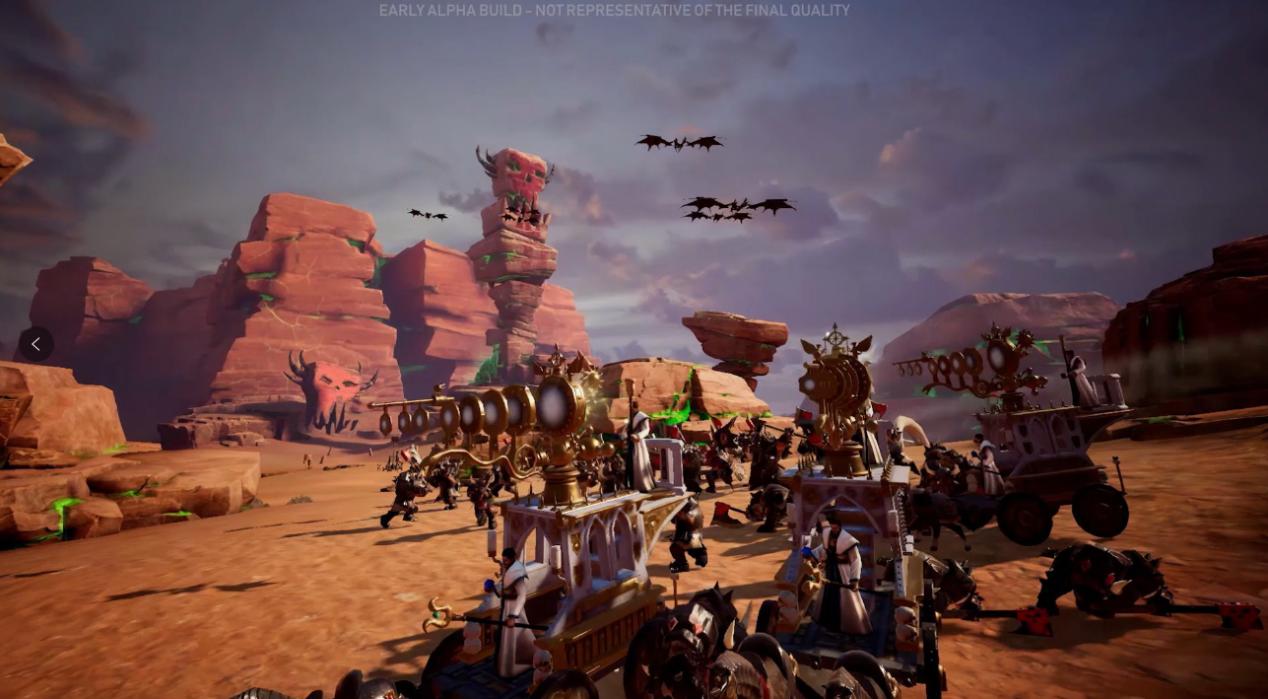 《全面战争:战锤》手游版海外首爆!指尖上演中古战锤之战