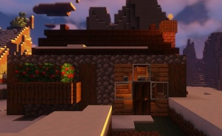 《我的世界》欧式小屋教程