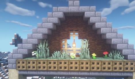 《我的世界》空中小木屋教程