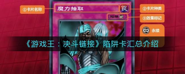《游戏王:决斗链接》陷阱卡摘要介绍