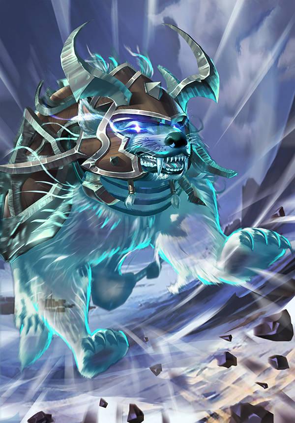 《太极熊猫3:猎龙》幽影狼骑介绍