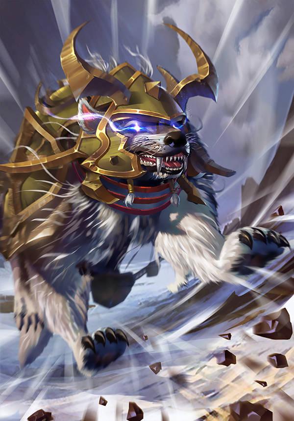 《太极熊猫3:猎龙》夜影狼骑介绍
