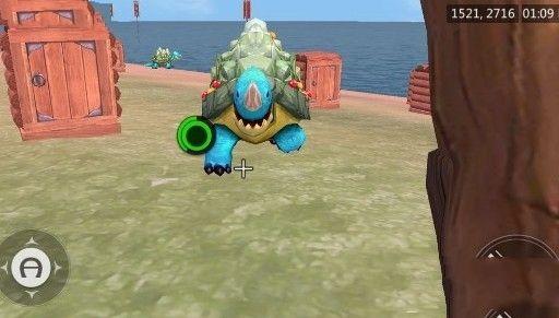《创造与魔法》海龟怎么抓