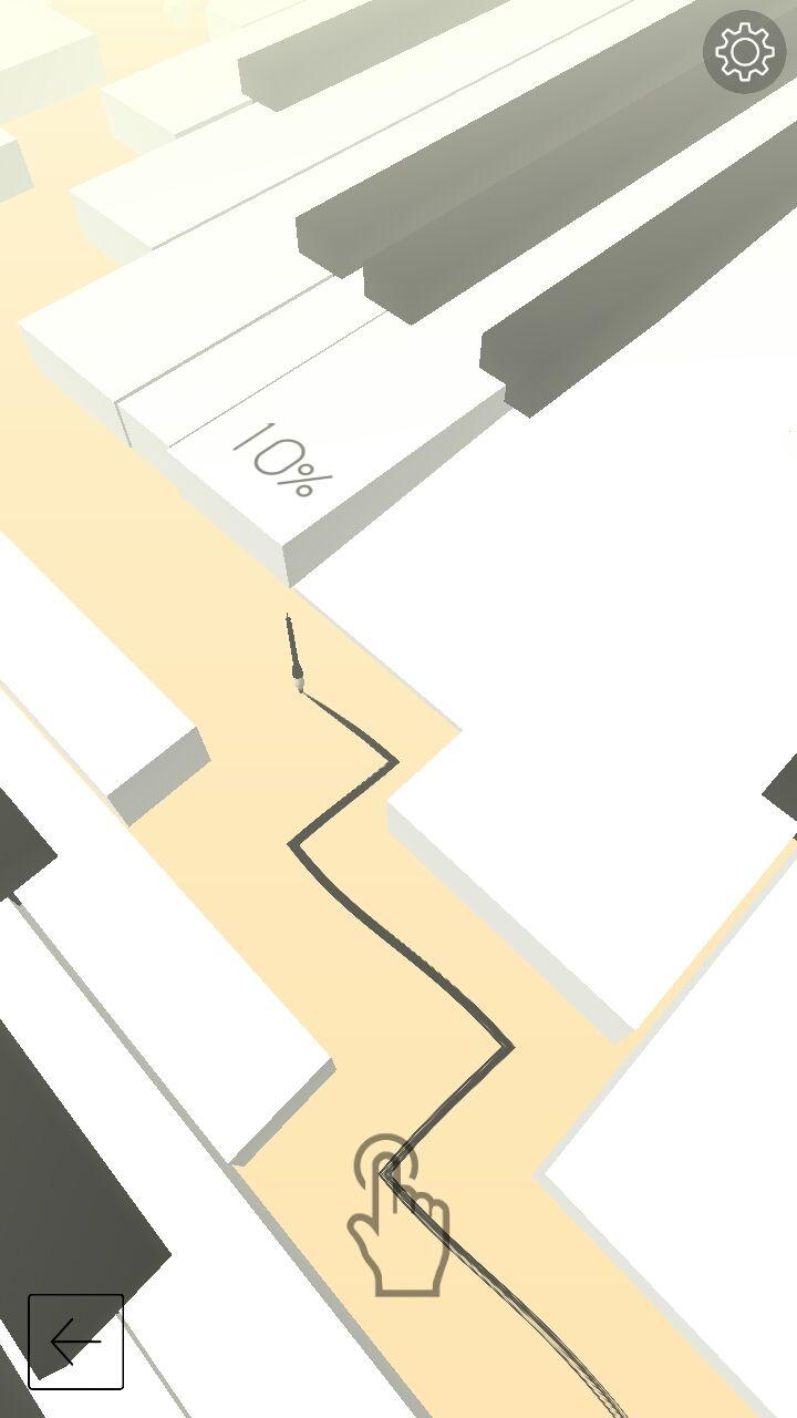 《跳舞的线》第一关钢琴攻略
