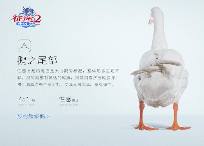 史上最强游戏宠物《征途2》手游超级鹅预约开启