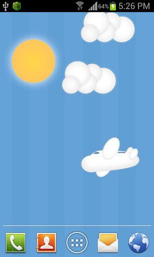 蓝天白云动态壁纸APP下载