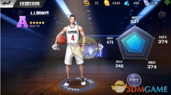 《最强NBA》得分后卫雷迪克介绍