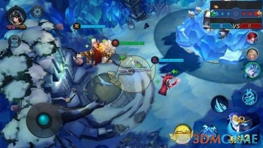 《乱斗西游2》对战地图北冰峡介绍