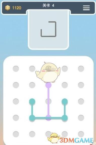 《点线交织拼图篇》第4关图文攻略