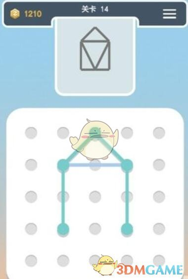《点线交织拼图篇》第14关图文攻略