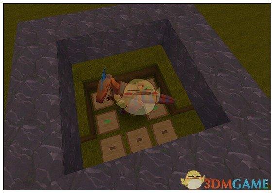 《迷你世界》野外捕龙器教程