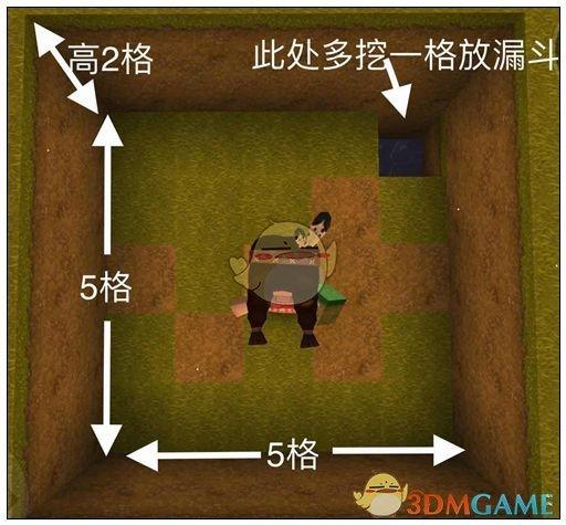 《迷你世界》自动杀怪仙人掌版