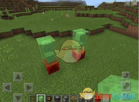 《我的世界》手游红石机器人制作方法