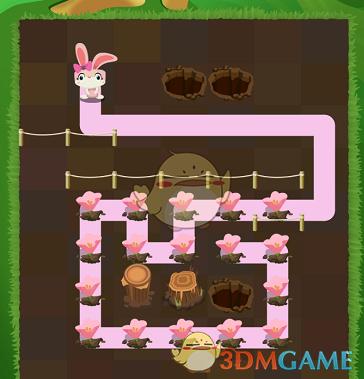 《兔子复仇记》五针松第11关通关攻略