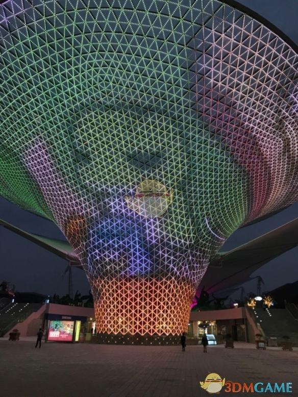 《旅行青蛙》玩家承包上海世博大屏 2万轮播60次