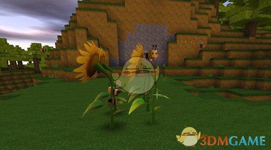 迷你世界怎么训服蜜蜂