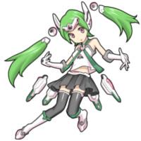 《怪物弹珠》试作支援型战斗姬绫女图鉴