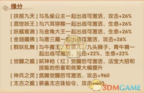 《少年西游记》大鹏金翅雕技能天赋解析