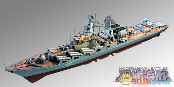 《现代海战》光荣级图纸介绍华威战舰科目三图片