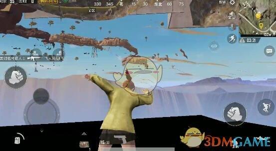 《绝地求生:刺激战场》沙漠地图卡空气墙BUG教程