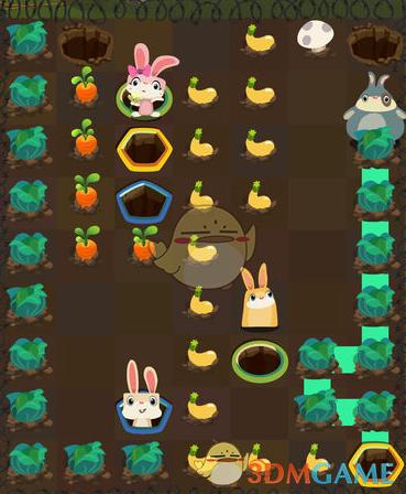 抖音兔子吃萝卜是什么游戏 兔子吃萝卜游戏介绍 3DM手游图片