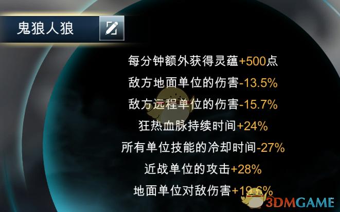 《战争艺术:赤潮》手游妖族狂热流搭配攻略