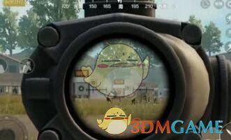 《绝地求生:刺激战场》手枪装高倍镜教学