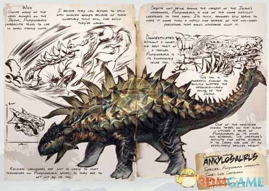 《方舟:生存进化》甲龙图鉴