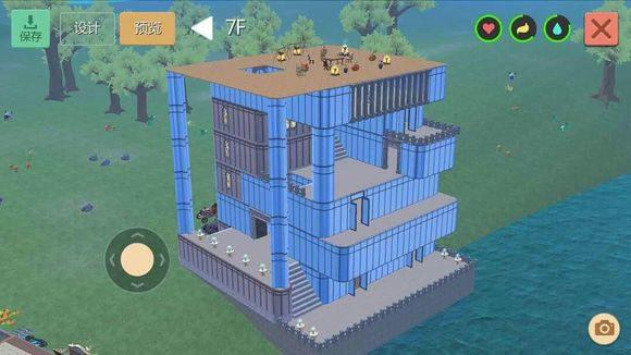 创造与魔法水晶城堡设计图