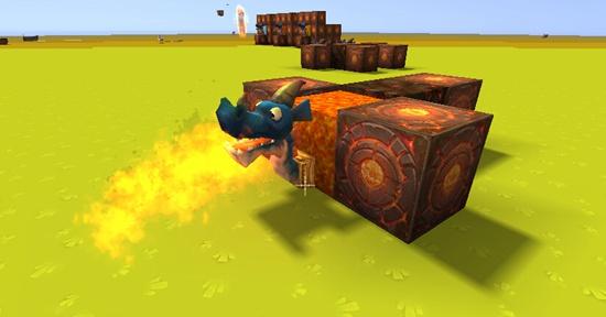《迷你世界》喷火龙头怎么做?喷水龙头怎么做?
